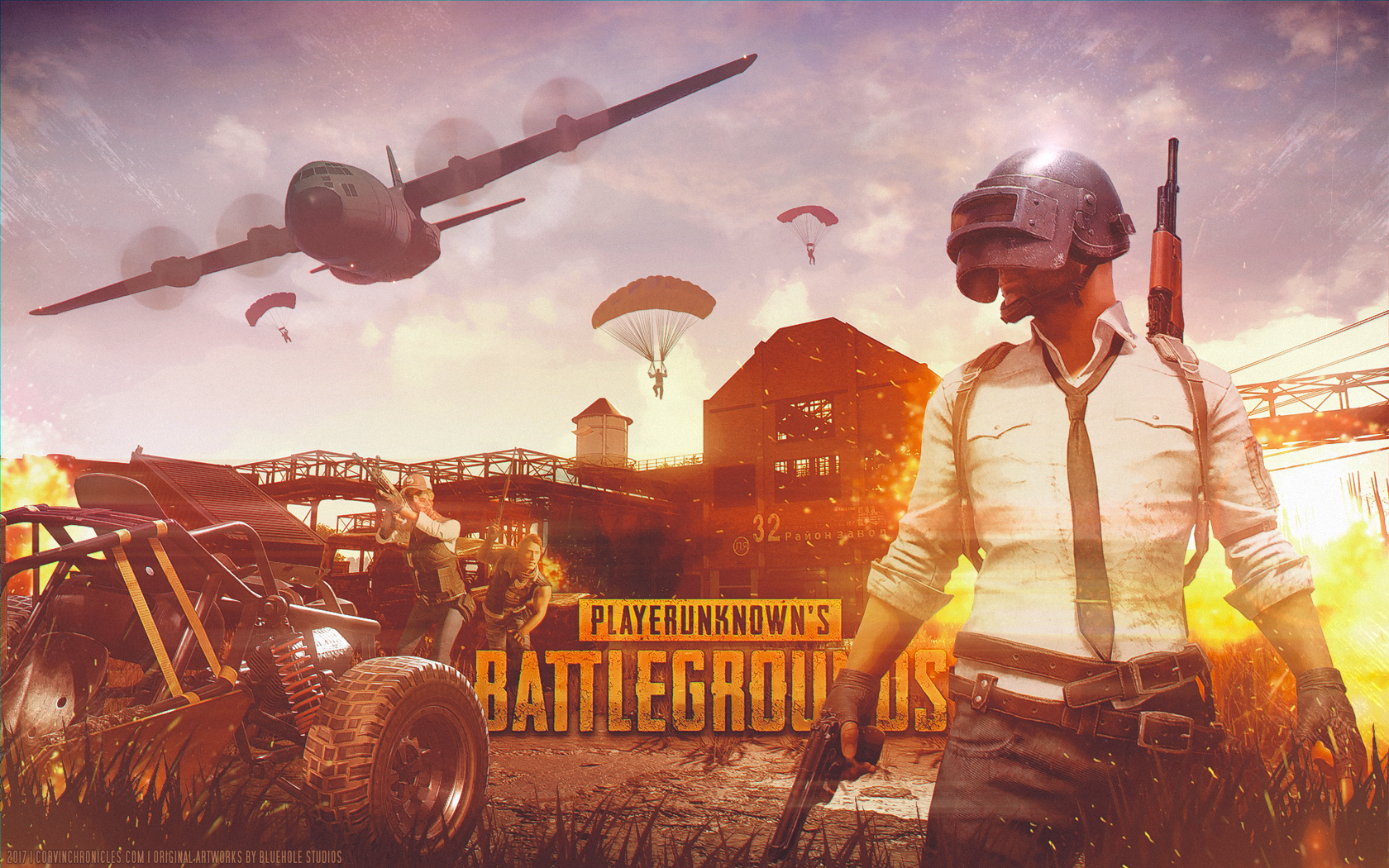 Pubg Fondo De Pantalla Hd: PlayerUnknown's Battlegrounds