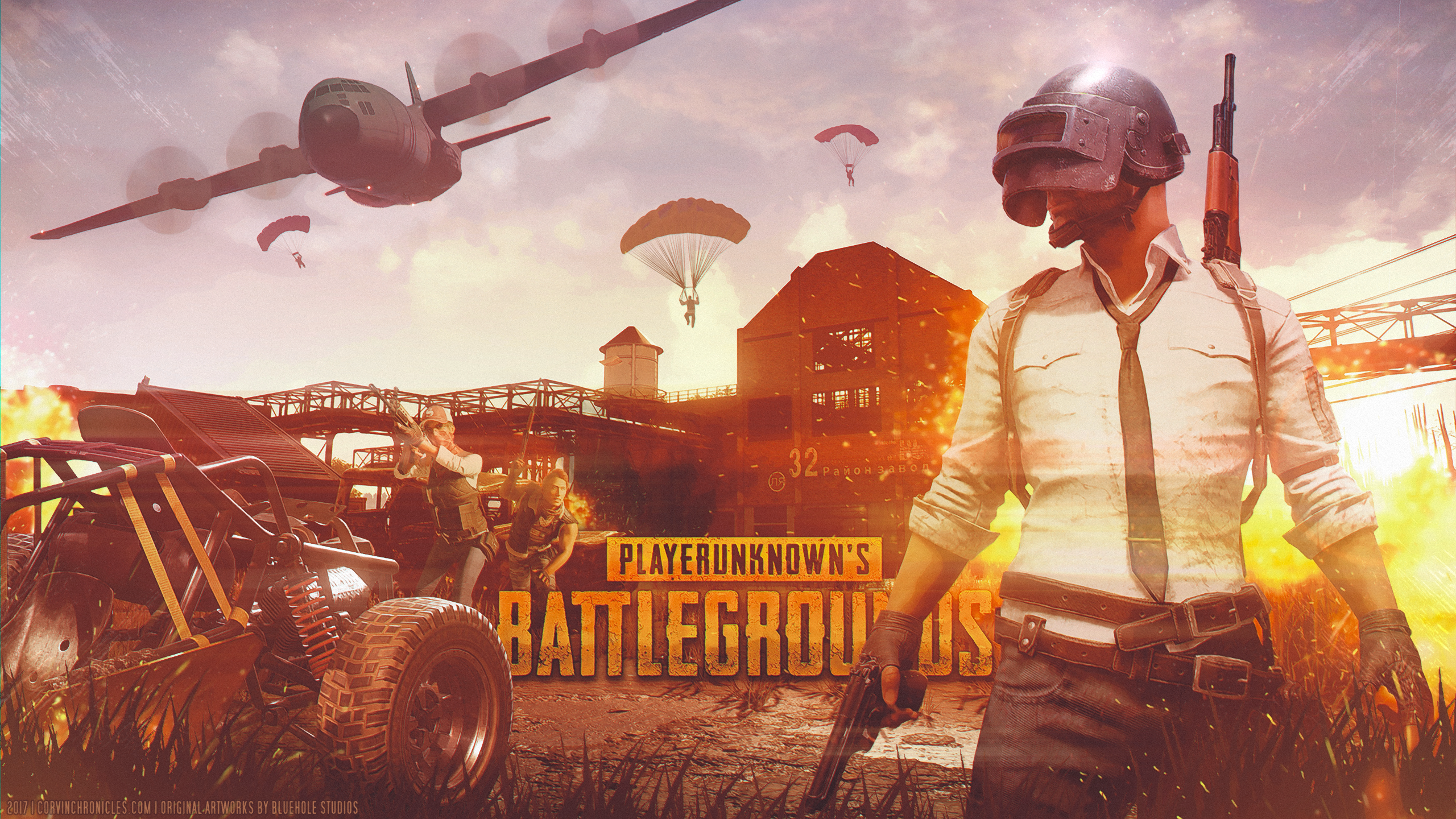 Pubg Wallpaper Themes: PlayerUnknown's Battlegrounds